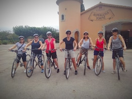 Cycling for Vino Bike Ride from Sitges, Barcelona