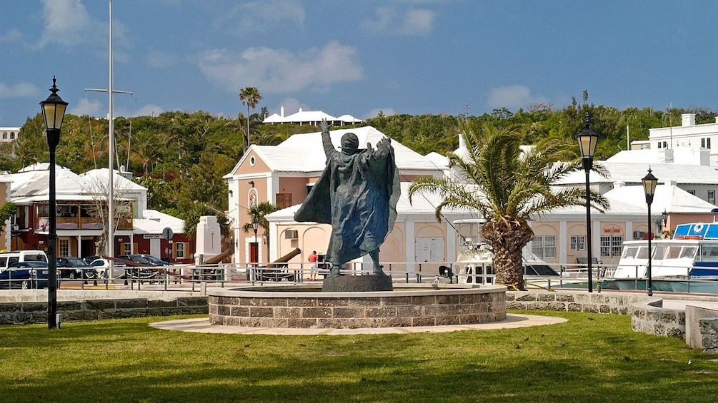 Show item 5 of 5. Statue landmark found in East Bermuda