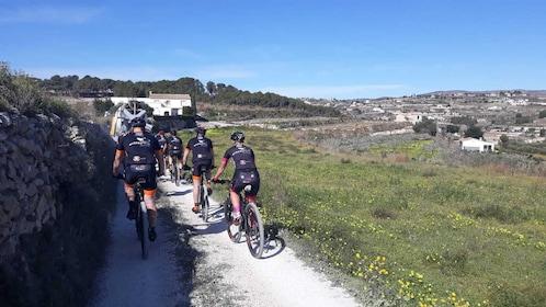 Mountain bike ride near the Costa Blanca coast