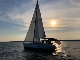 Private 2.5 Hour Sunset Sail and Dolphin Watch