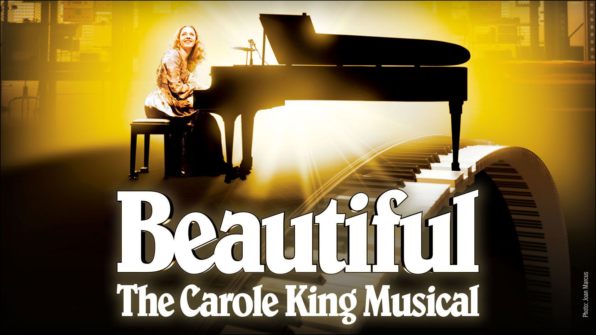 Poster for Beautiful the Carol King Musical in New York