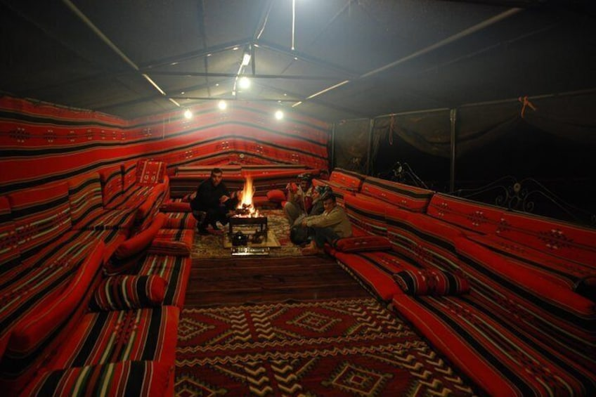A large Bedouin Tent