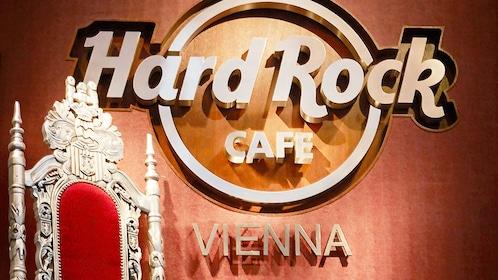 Hard Rock Cafe Vienna sign