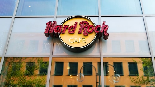 Entrance to the Hard Rock Cafe in Cologne