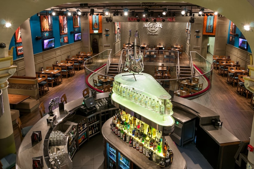 Show item 10 of 10. Hard Rock Cafe Glasgow Dining with Priority Seating