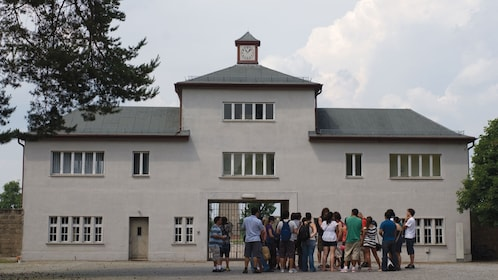 Main entrance to Sachsenhausen