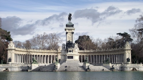 View of the Buen Retiro Park in Madrid