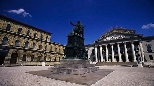 Day view of Munich Third Reich