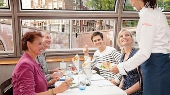 Kanalcruise med en 4-retters gourmetmiddag og drikke