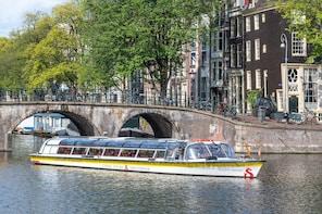 Crucero por los canales de Ámsterdam con audioguía