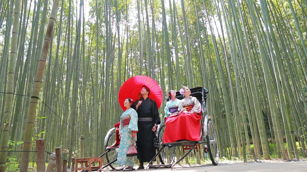 Show item 3 of 10. Kyoto and Sagano Romantic Train Tour with Halal Lunch