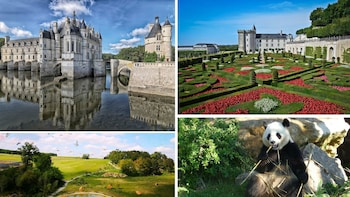 Loire Valley Castles & Panda Zoo, 2Day Private tour - Paris