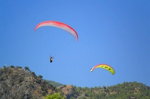 Paragliding over the Blue Lagoon in Olu Deniz