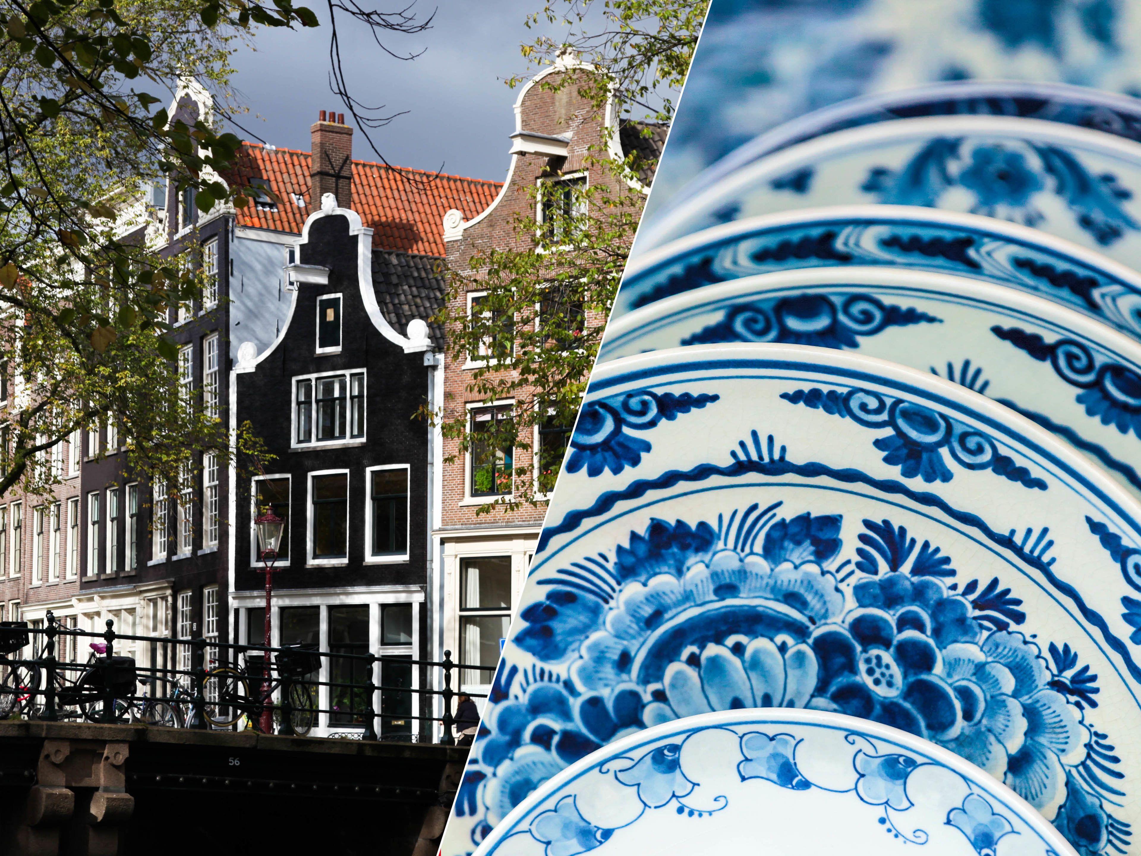 Combo Saver: City Sightseeing, Delft, The Hague & Madurodam Tour