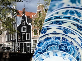 Combo Saver: Amsterdam City Tour & Delft/The Hague/Madurodam