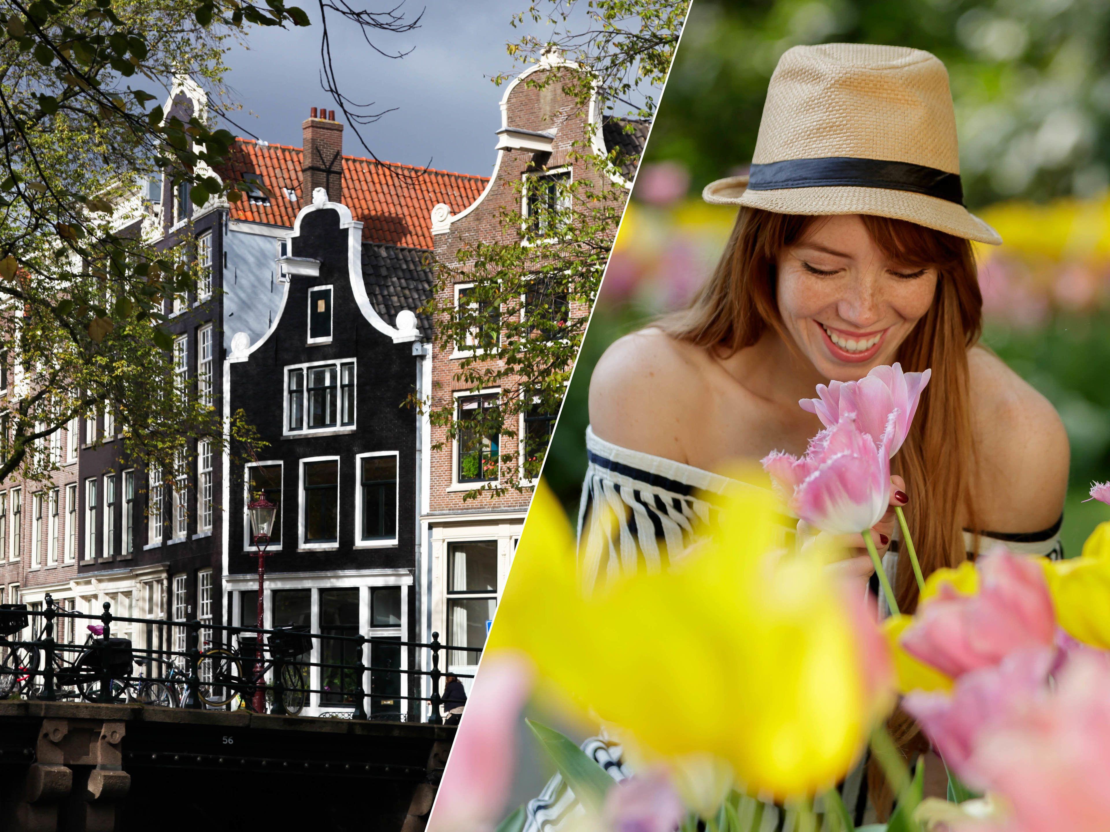 Combo Saver: Guided Amsterdam City Tour & Keukenhof Tour
