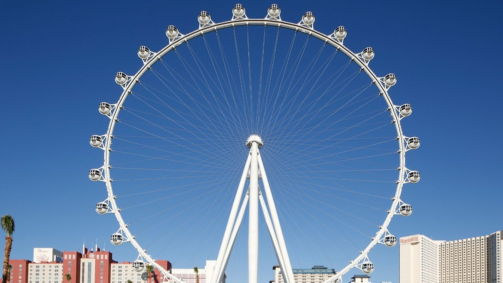 Show item 2 of 5. Daytime image of  The High Roller Observation Wheel in Las Vegas