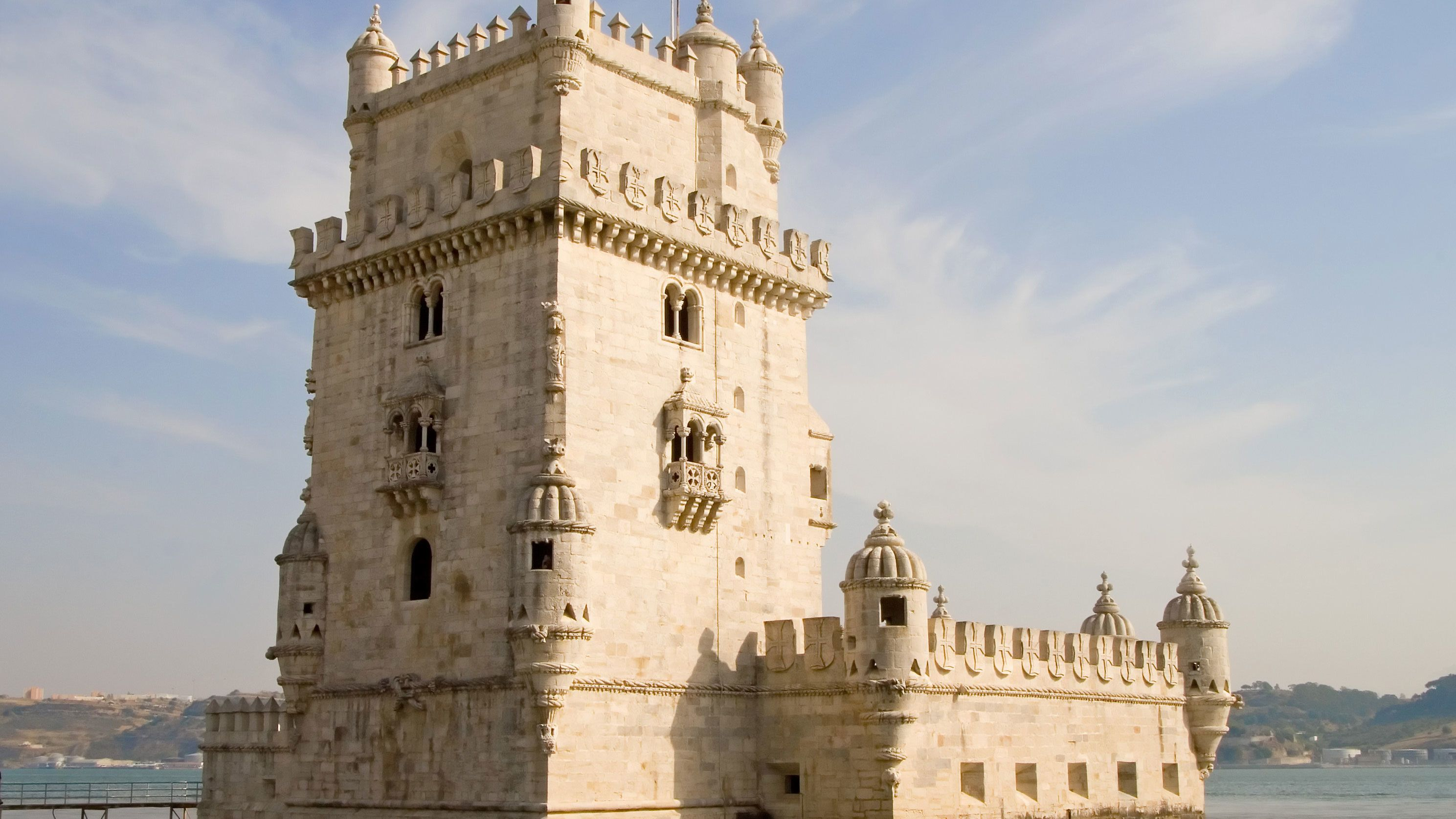the Belem tower in Portugal