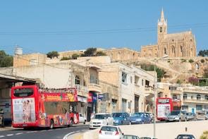 Circuit en bus à arrêts multiples à Gozo