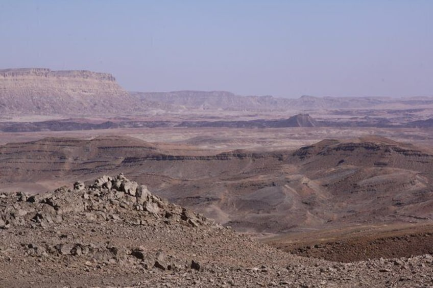 Show item 4 of 6. The Ramon Crater and rappelling package tour - an exciting combo tour.