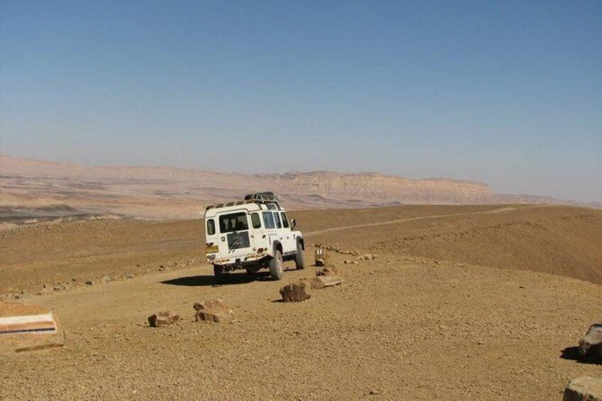 Show item 3 of 6. The Ramon Crater and rappelling package tour - an exciting combo tour.