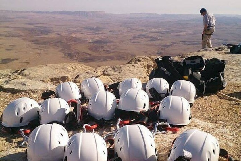 Show item 1 of 6. The Ramon Crater and rappelling package tour - an exciting combo tour.