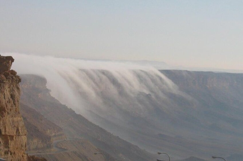 Show item 5 of 6. The Ramon Crater and rappelling package tour - an exciting combo tour.