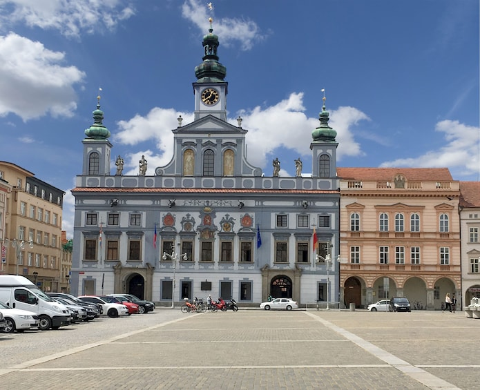 Show item 3 of 8. Walking tour of Ceske Budejovice, taste the Budweiser beer