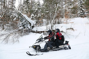Grand Touring Snowmobile: 4 Hour Hire (2 seater)
