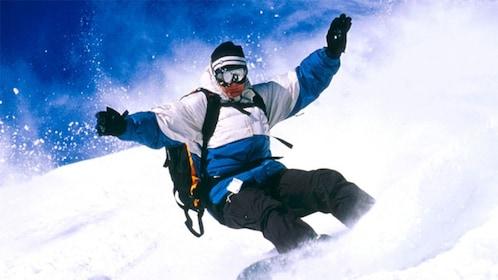 Snowboarder in Breckenridge