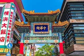 Yokohama private tour from Tokyo Chinatown