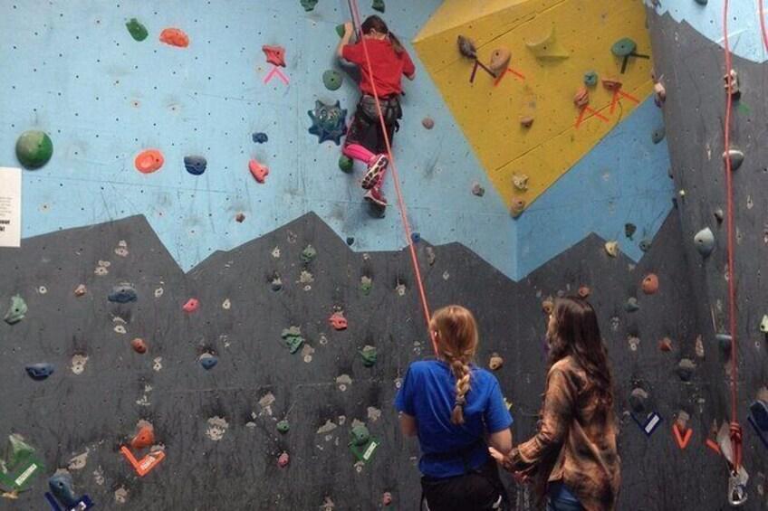 Show item 6 of 6. Climb Upstate Rock Climbing Gym Day Pass