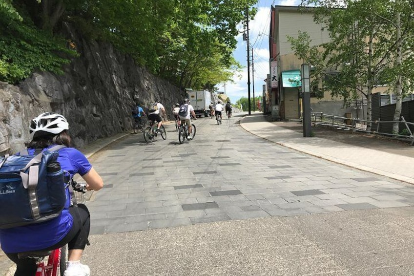 Mountain Bike Tour from Sapporo Including Hoheikyo Onsen and Lunch