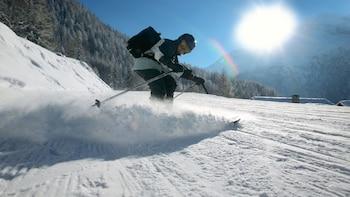 Paquete de renta de esquís en Brighton y Solitude