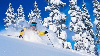 Paquete Preferred de alquiler de material de esquí en Snowbasin y Powder Mo...