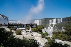 Iguazu Falls: Visit to Argentinian and Brazilian Side in two days