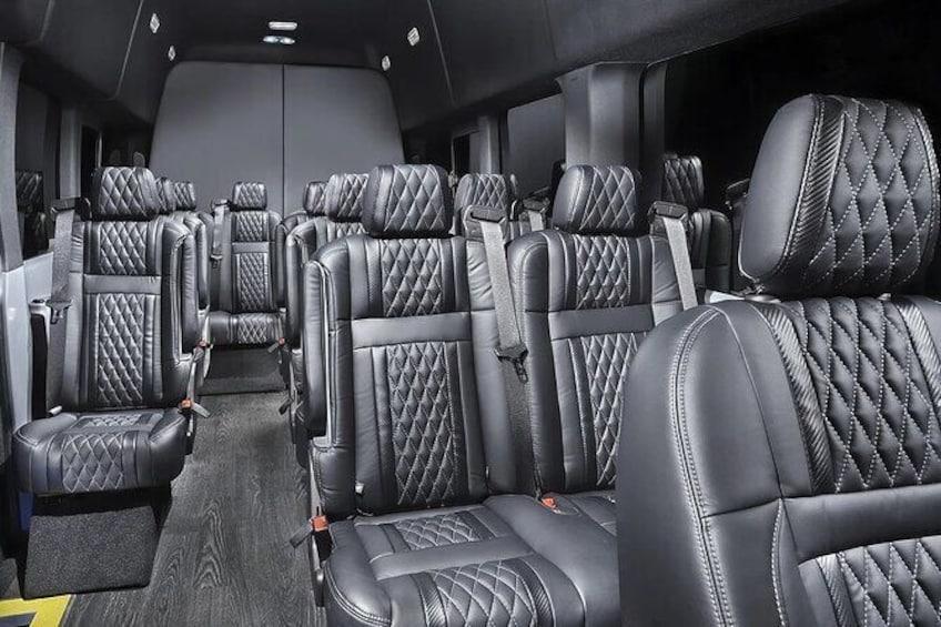 Show item 3 of 12. Transit/Sprinter Vans 1-14 passenger interior