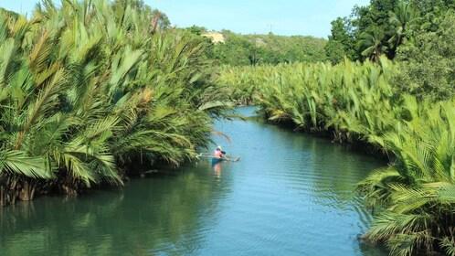 Navigating through the waterways in Bohol