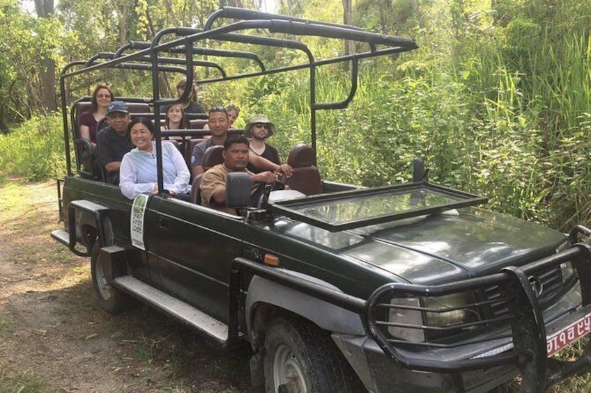 Show item 5 of 6. Chitwan Jungle safari Guided Private Day Tour