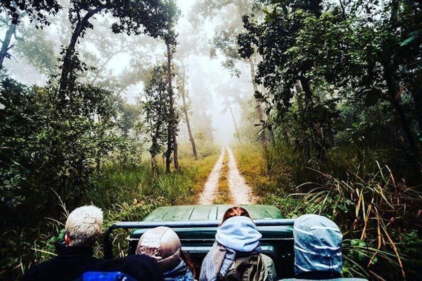 Show item 1 of 6. Chitwan Jungle safari Guided Private Day Tour