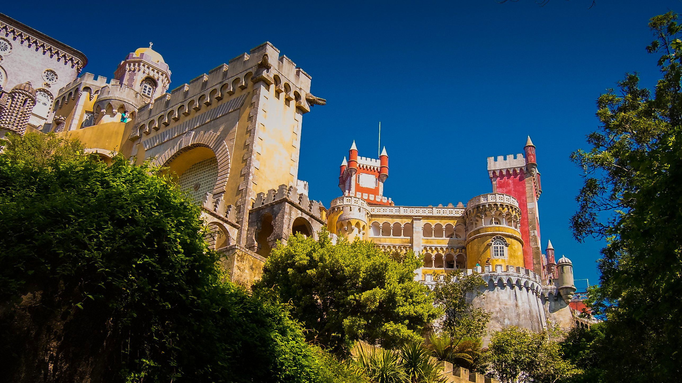 visit the Pena National Palace in Sintra