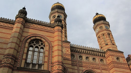 Detail of Dohány Street Synagogue in Budapest