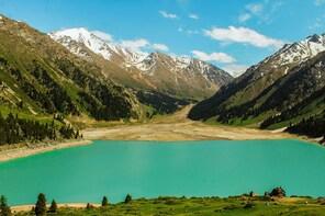 Big Almaty Lake - azure eye of Trans Ili Alatau