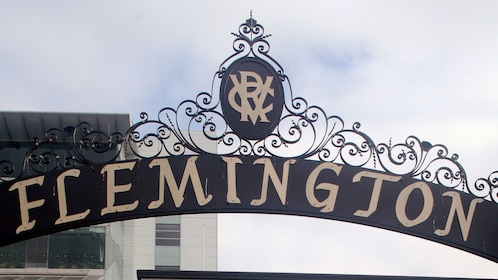 At the Flemington in Melbourne