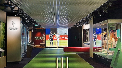 The hall of fame inside the National Sports Museum in Melbourne