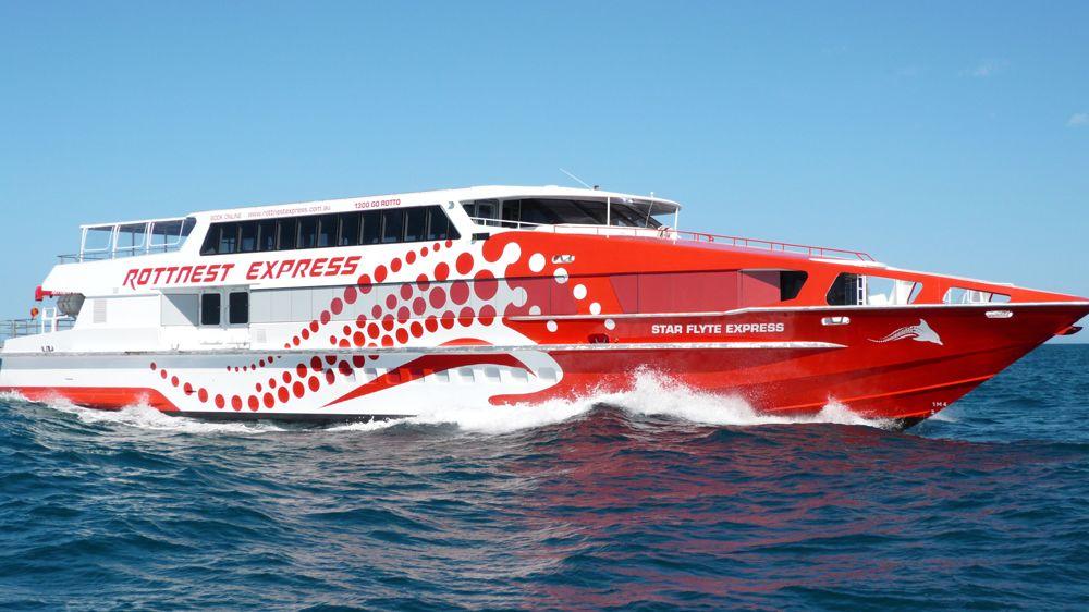 Shared Ferry: Rottnest Island
