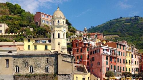 Colorful hillside village in the Cinque Terre