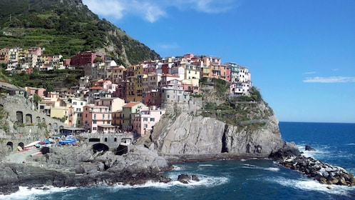 Cliffside village in the Cinque Terre
