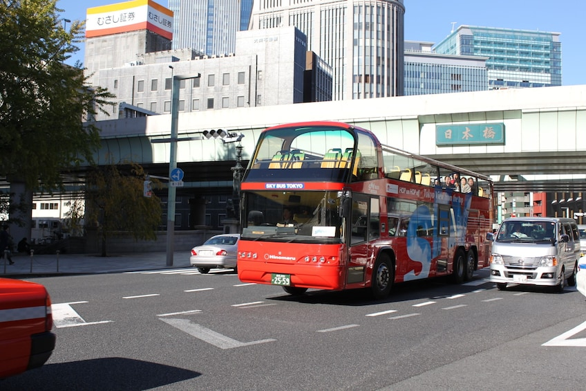 Show item 2 of 5. Hop-On / Off Bus Tour in Tokyo