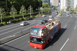 Hop-on-Hop-off-Bustour durch Tokio
